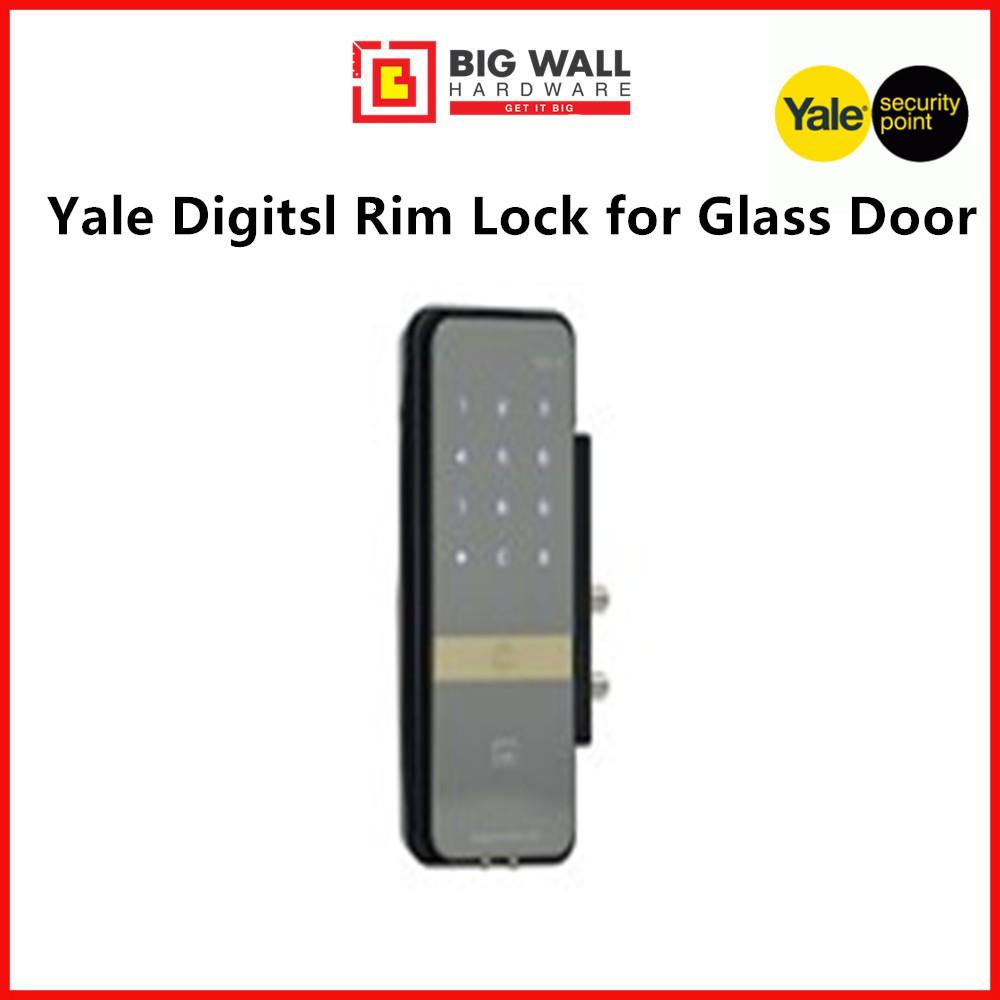 YALE YDG 313 DIGITAL GLASS DOOR LOCK (Free Luggage Padlock)