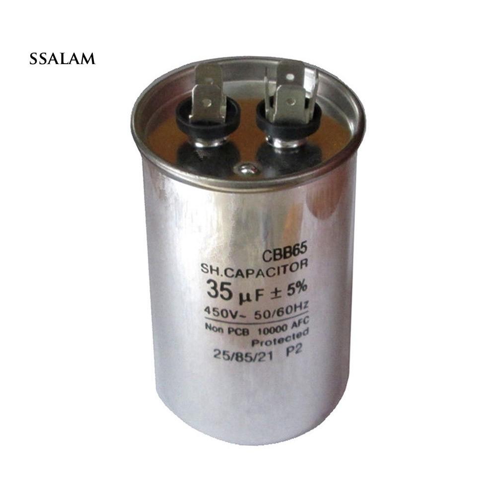 CBB60 6uF /± 5/% Motor Running Capacitor AC 450V 50//60Hz