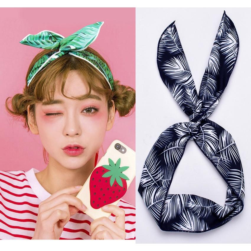 6 Pcs Women Girls EMOJI Multi-function Head Scarf Bandana Elastic Headband Wrap