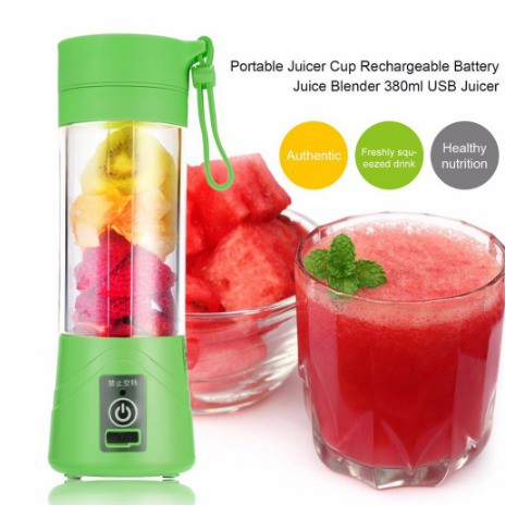 🔥Wholesale🔥 Genuine Powerful Portable Rechargeable Fruit Juice Blender | Shopee Malaysia
