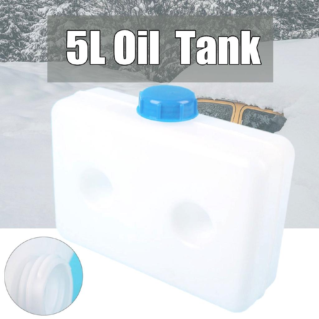 2.5L Plastic Can Fuel Parking Heater Tank Car Truck Air Diesel Universal White