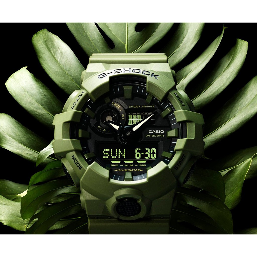 Watch Casio G Shock Ga110fc 2 Original Shopee Malaysia Jam Tangan Ga 100a 9adr