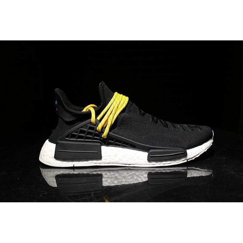 lowest price 6db53 3e8d7 Original Adidas NMD human race black and white men's and women's running