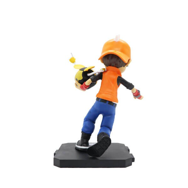 Original 13cm Boboiboy Cyclone Earthquake Taufan Gempa Action Figurine Toys for boys boiboiboy