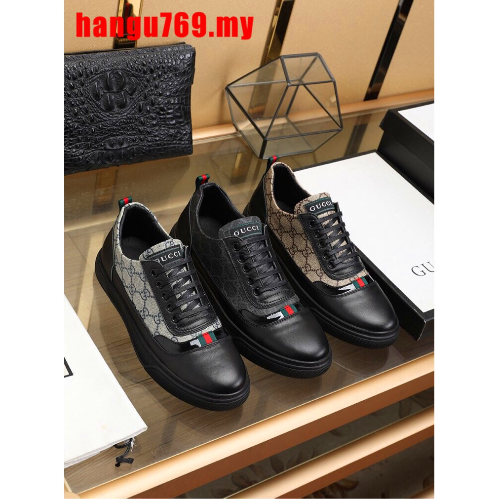 a9ccb300 ✔ Original GUCCI ✔ Classic Fashion New Gucci shoes Low Tops Sneakers