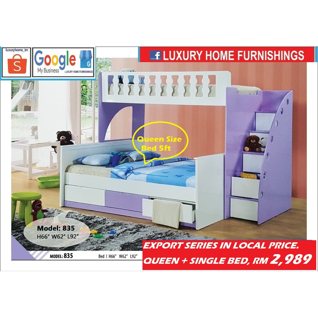 CHILDREN DOUBLE DECKER BED COLLECTIONS