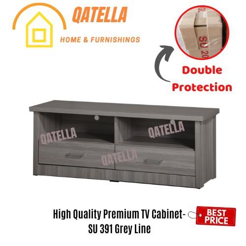 Cheapest Price TV CABINET / TV Rack / 电视柜 / BEDROOM CABINET  (H 47cm, W 120cm, D40cm) SU 391