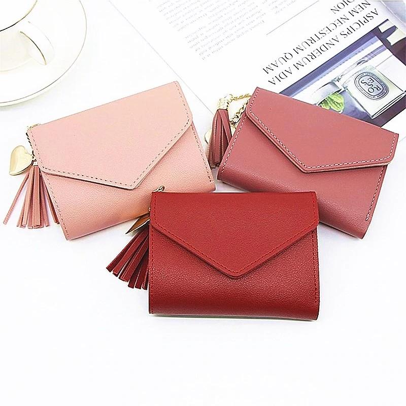 💓New💓 Mini Tassel Clutch Purse Korean Style for Girls [ Biqlin 217 ]