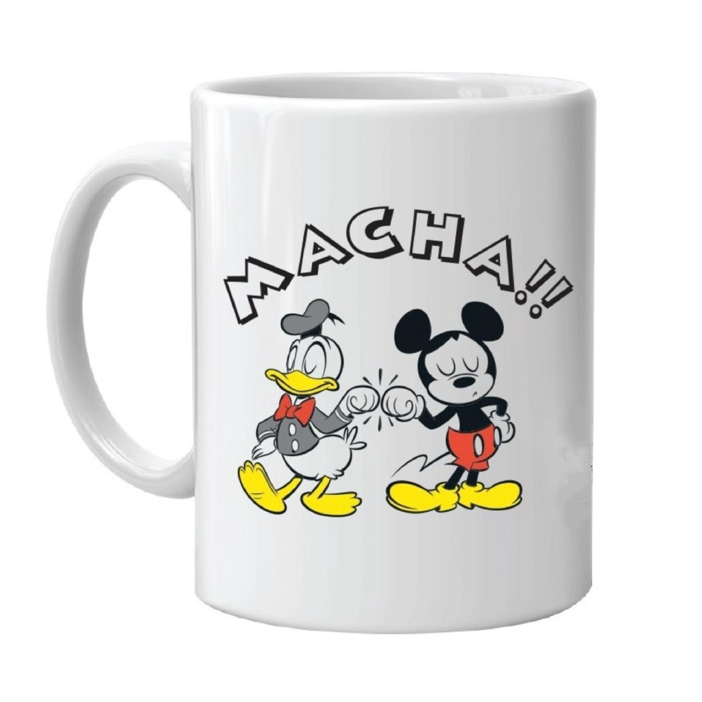Mickey20 20donald Duck Cartoon Mug Ceramic Coffee Milk Tea Mug Cute Gifts White Ceramic Mug Funny Mugs Novelty Tea Cup Coffee Mug 11oz Shopee Malaysia