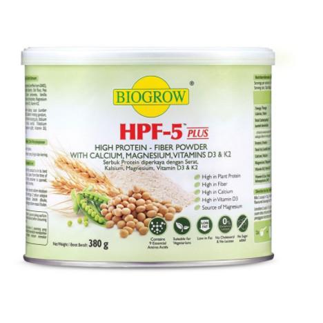 Biogrow HPF-5 High Protein Fiber Powder (380g)