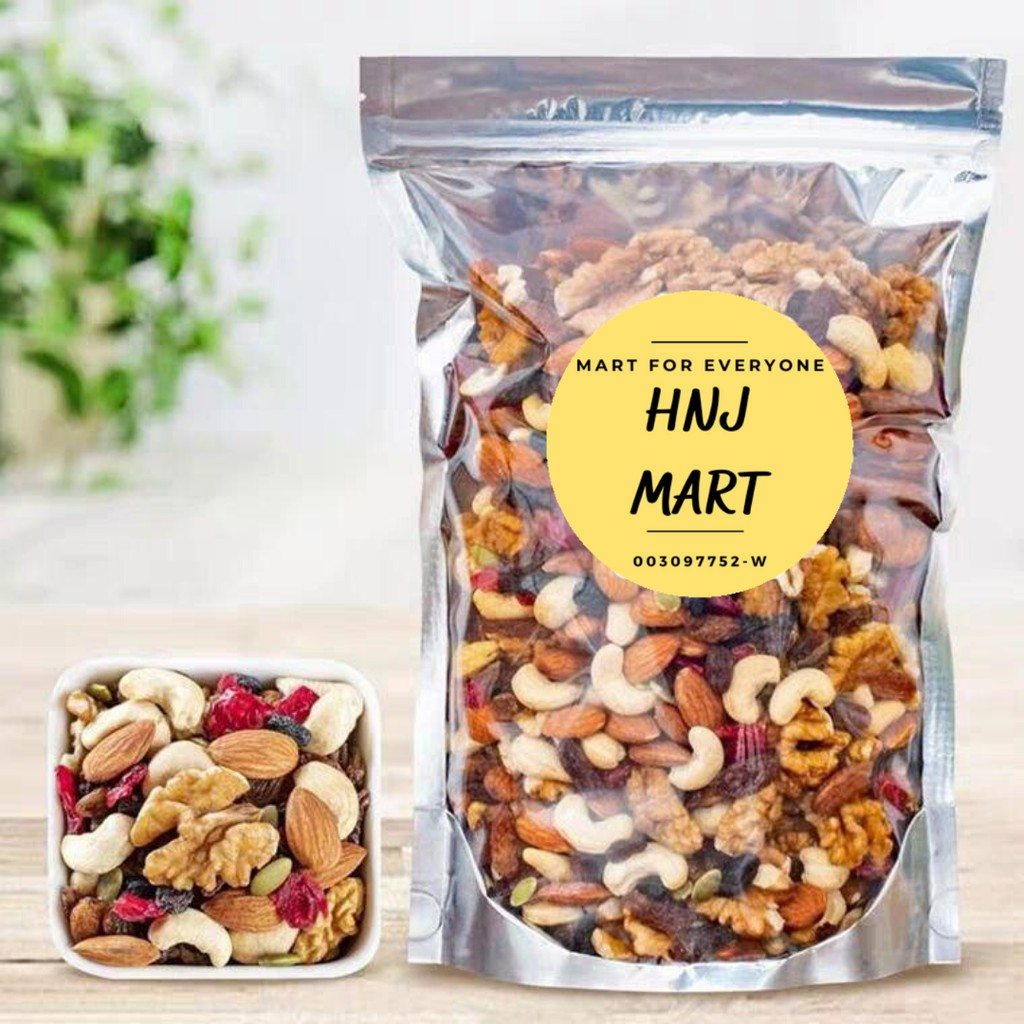 USA Mixed Fruit Nuts 200g [Unsalted]