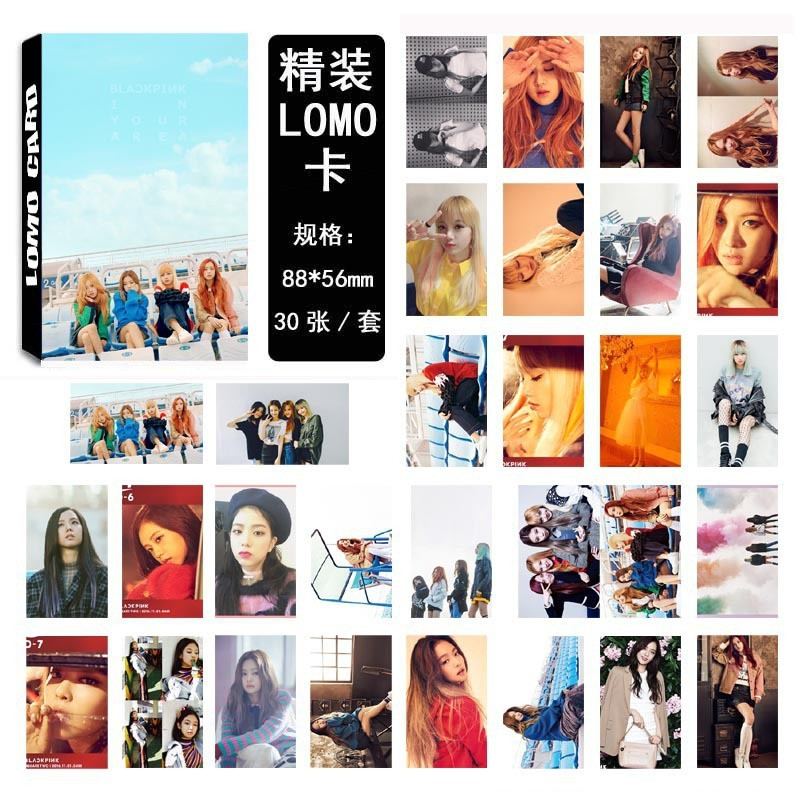 Kpop Exo Album Polaroid Lomo Photo Card Posters Baekhyun Chanyeol Sehun Collective Hd Photocard With Metal Box Highly Polished Jewelry & Accessories Beads & Jewelry Making