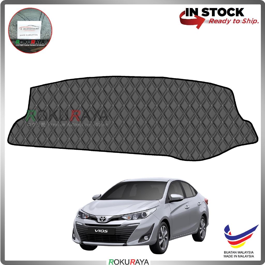 Toyota Yaris Vios Facelift 2019 RR Malaysia Custom Fit Dashboard Cover (BLACK LINE)