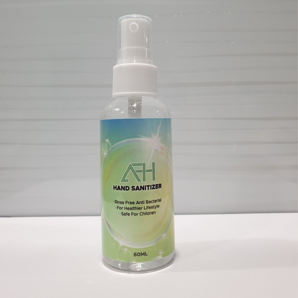 Travel size Sanitizer 60ml Spray 70% Alcohol