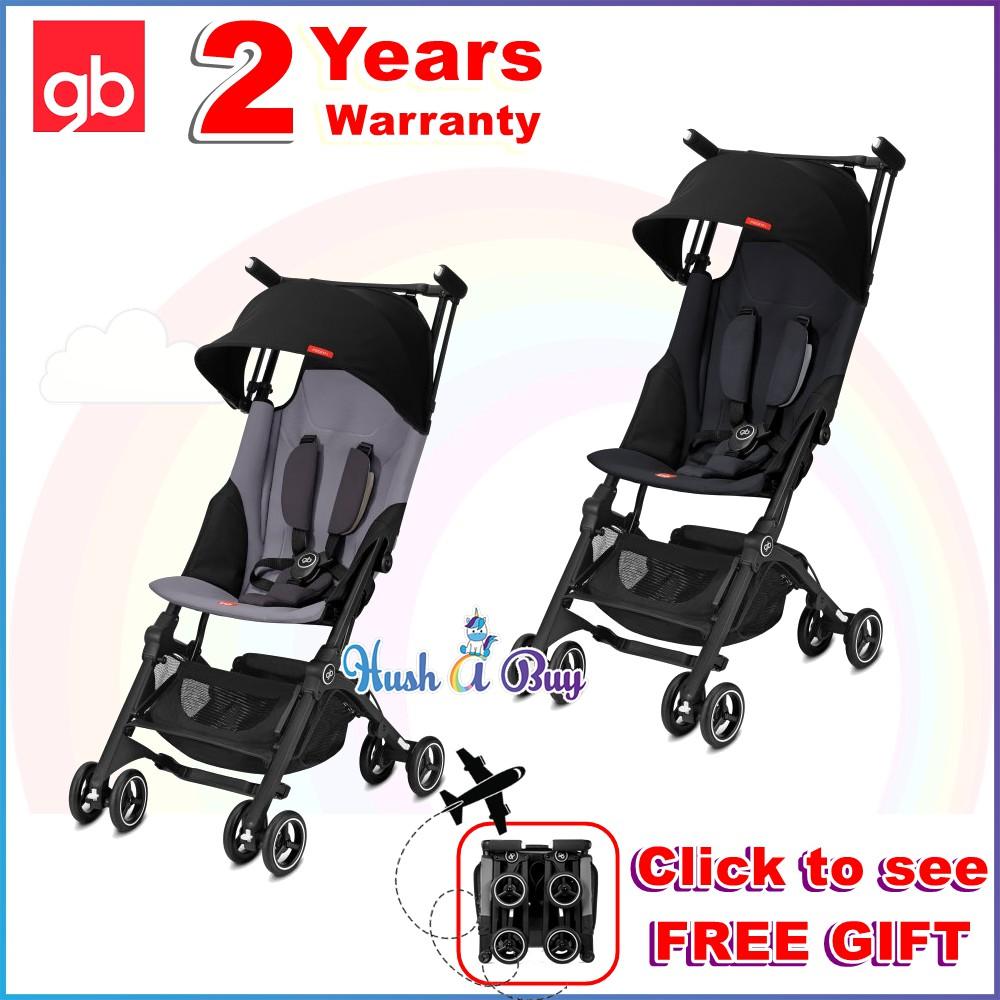 8d4df06b0e3 READY STOCK GB Pockit PLUS GOLD 2018 stroller - Laguna Blue