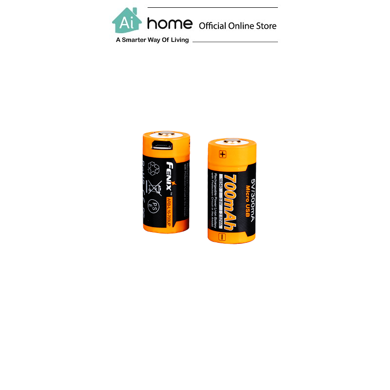 FENIX ARB-L16-700UP Rechargeable 16340 Li-ion [ Power Battery ] with 1 Year Malaysia Warranty [ Ai Home ]