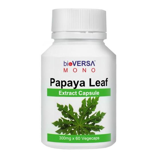 bioVERSA Papaya Leaf Extract Capsule 60's (Dengue Fever)