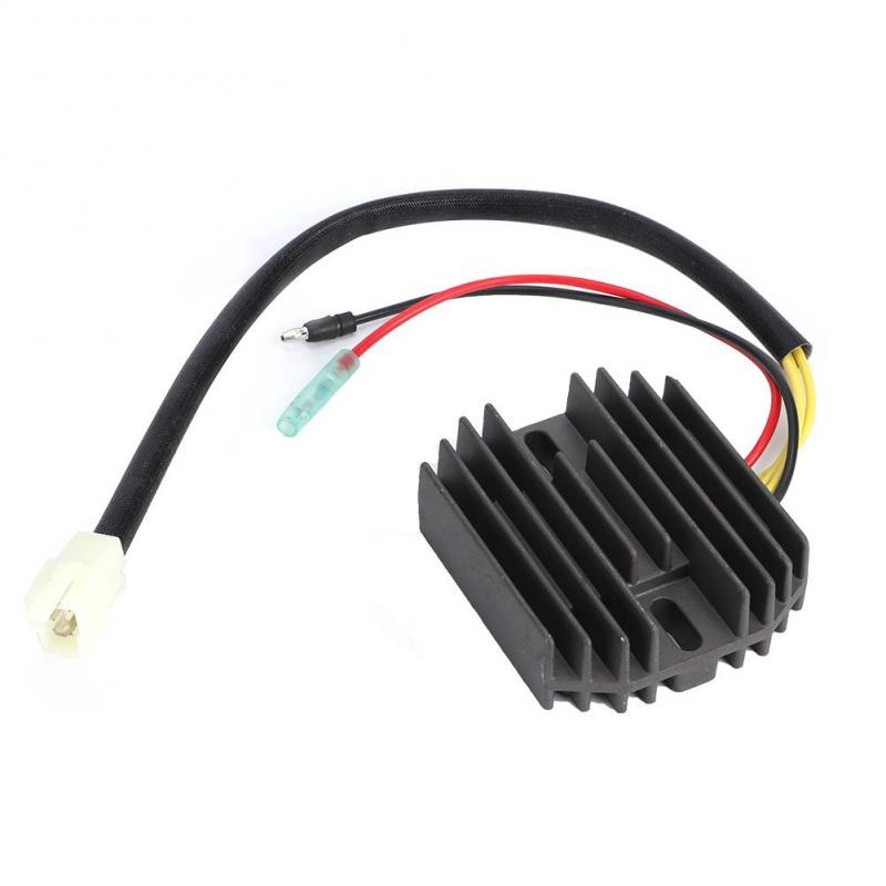 Voltage Regulator Rectifier,Aluminium Motorcycle Voltage Regulator Rectifier Accessory Replacement Fits for ATV 4KB-81960-02-00 4KB-81960-01-00 4KB-81960-00-00