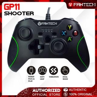FANTECH GP11 SHOOTER Wired Vibration Controller Gamepad - Red Light