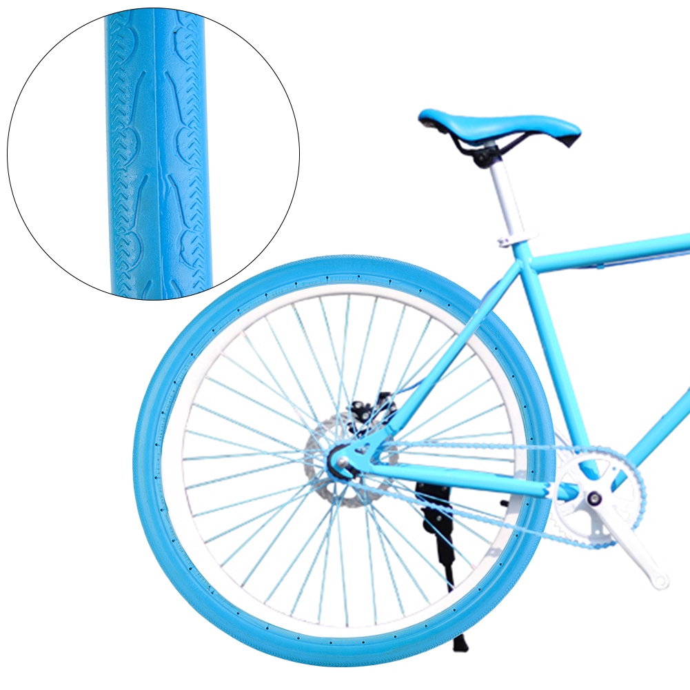 26 Inch 700x23C Road Bike Bicycle Tire Solid Tube Explosion-Proof Tyre Silicone