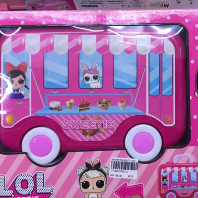 LOL Surprise Sweeties Caravan Doll Gift for Xmas Toys & Gift Kids