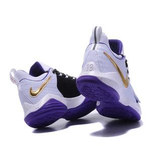 outlet store 10dcc 98e4a ... NikeID PG 1 Custom White Black Purple. like  0