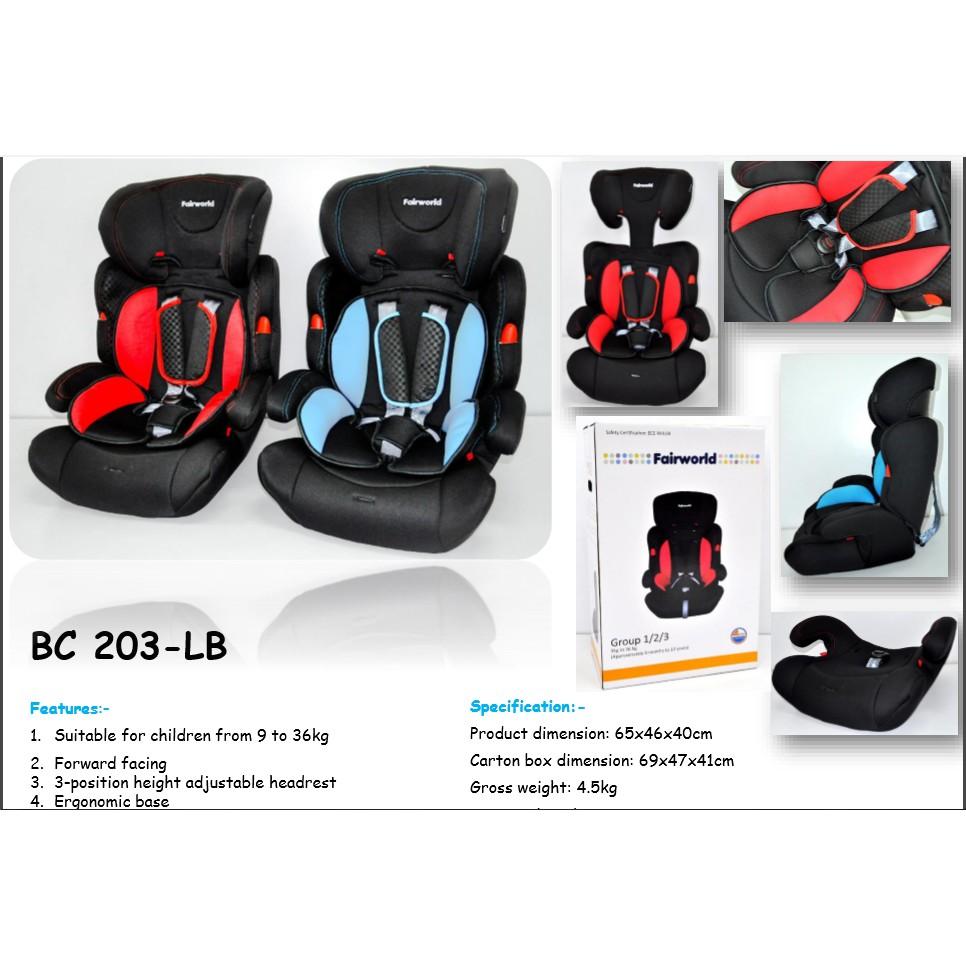 Fairworld Car Seat With Ergonomic