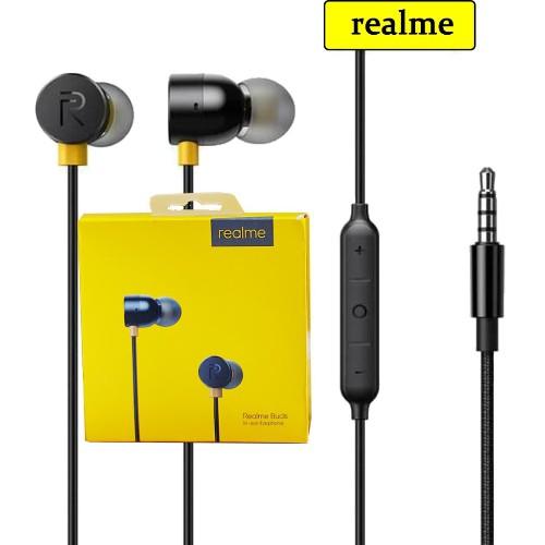 Realme Buds In-ear Earphone Handsfree Magnetic Handsfree Magnetic Earbuds