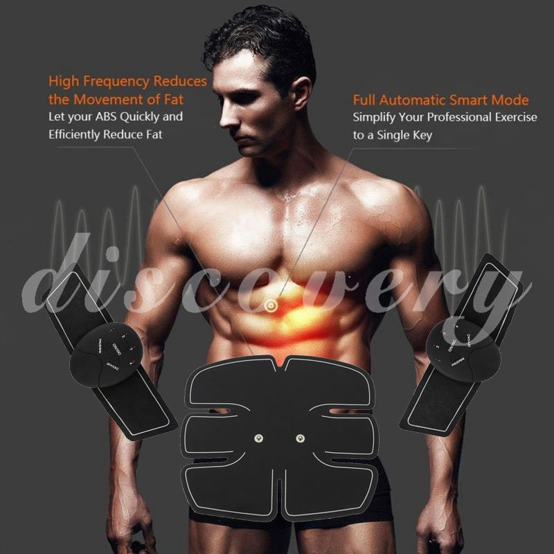 Dynamic Mini Relax Slimming Fat Electric Pulse Butterfly Massager Pads Full Body Arm Leg Muscle Trainer Massage Sticker Stimulator Pads Sports & Entertainment