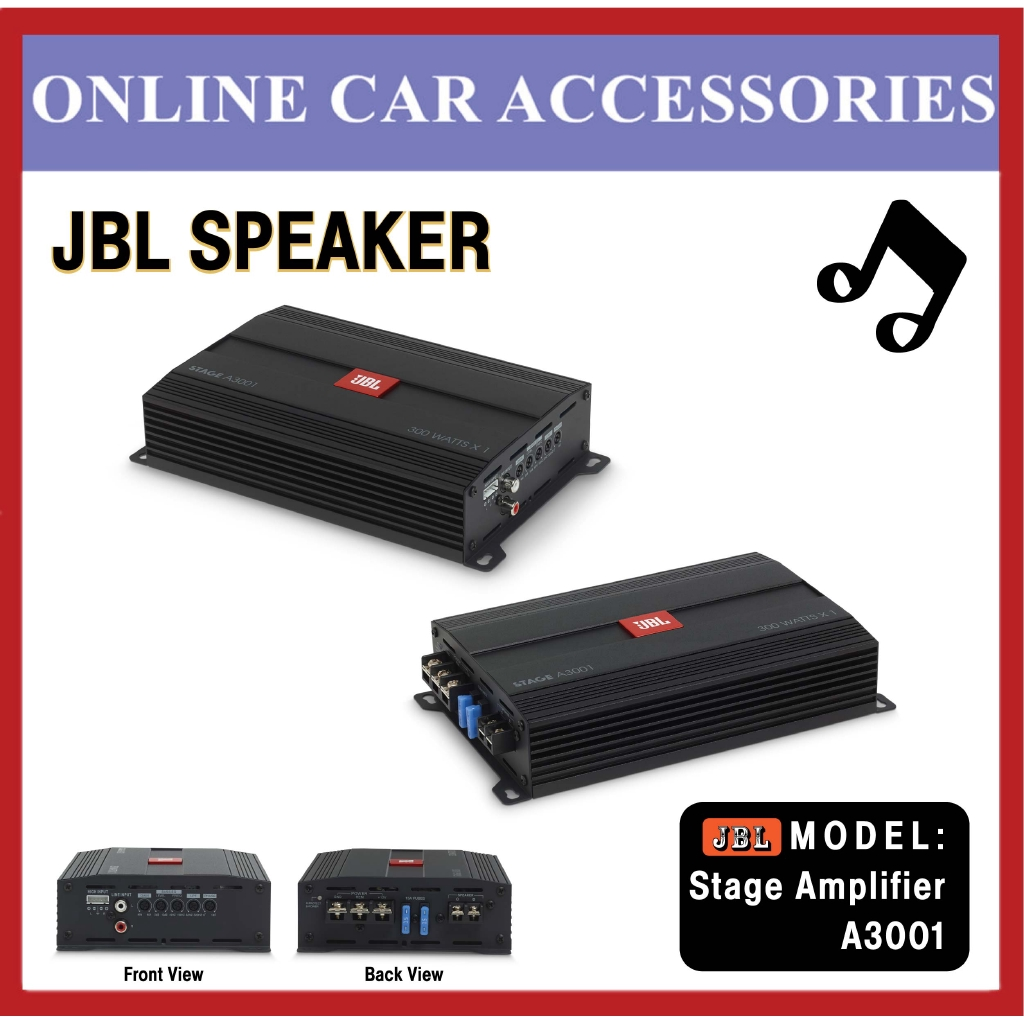 JBL STAGE A3001 - Class D Car Audio Amplifier