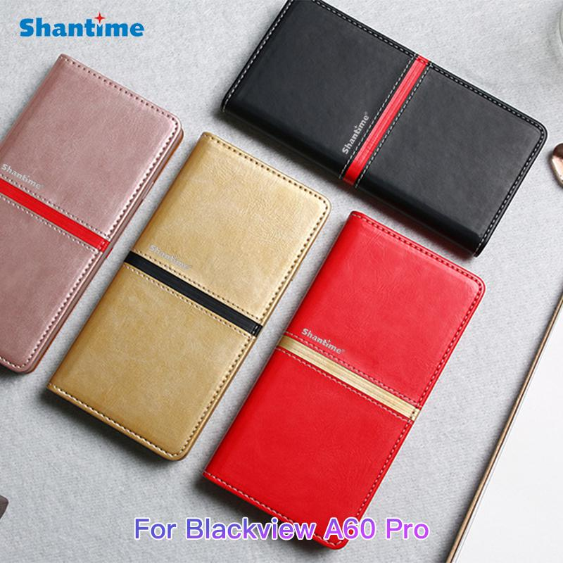 PU Leather Phone Case For Blackview A60 Pro Business Flip