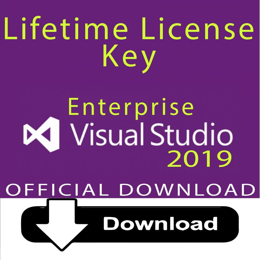 Lifetime license LATEST Microsoft Visual Studio Professional