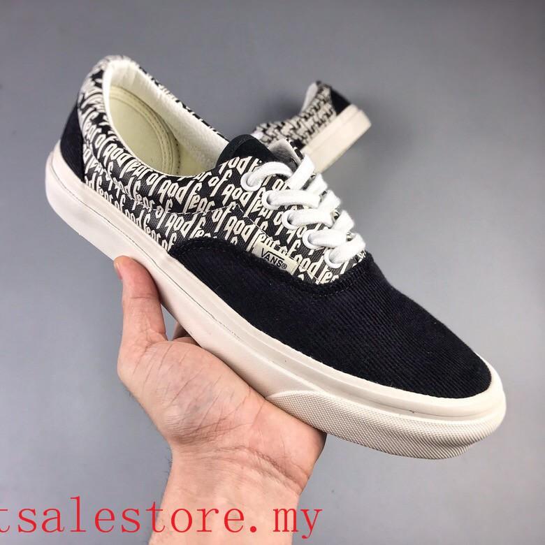 Vans x FOG Shoes Men's Fear Of God Vans Era 95 Reissue Women's Sport Sneakers