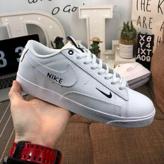 wholesale dealer 786b6 8e066 \ Nike Blazer Low SE Umbrella Opener Series Low Top Leather Panel Shoes  Men's and Women's Shoes
