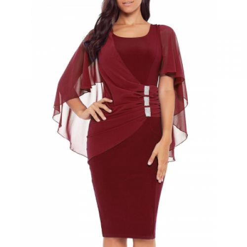 86a9ac64b64 Long Sleeve Off Shoulder Rhombus Sweater Dress (CRYSTAL CREAM ...