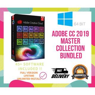 🔥 Adobe CC 2019 Master Collection Full Set for Windows 32/64 Bit LIFETIME  | INSTRUCTION + INSTALLER 🔥