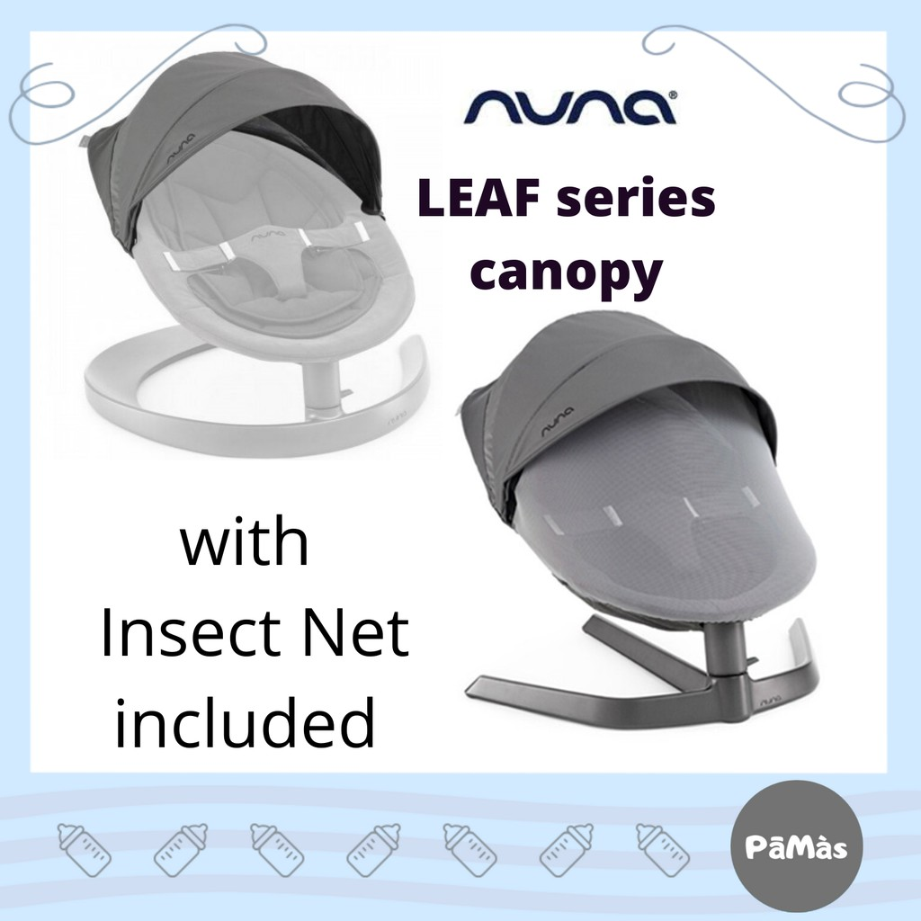 Nuna Leaf Canopy With Insect Net *cinder*
