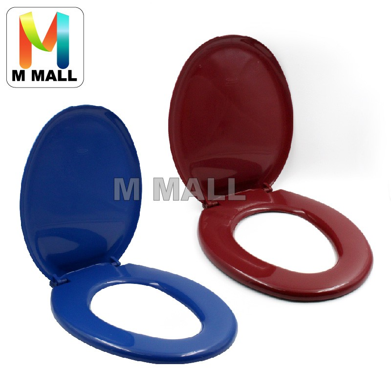 Groovy M Mall Plastic Toilet Bowl Seat Cover With Screws Machost Co Dining Chair Design Ideas Machostcouk