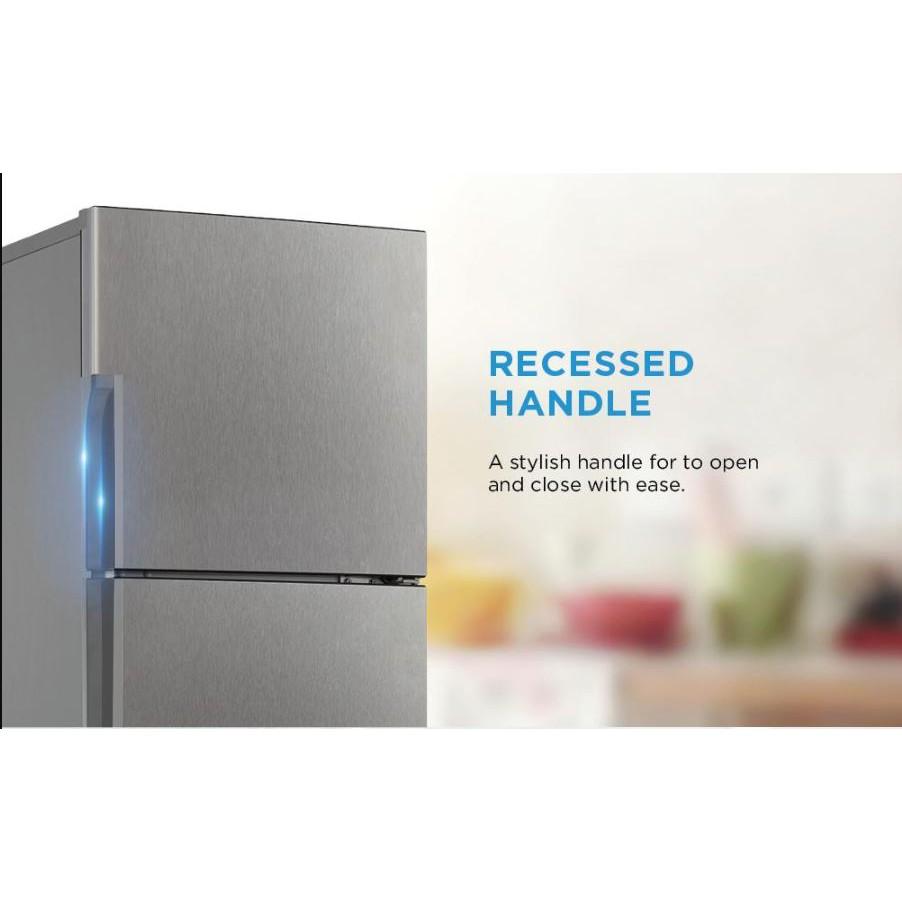 New Model + Ready Stock ! Midea 2-Door 185L Refrigerator MD-222V / Fridge / Peti Sejuk 10 Years Compressor Warranty