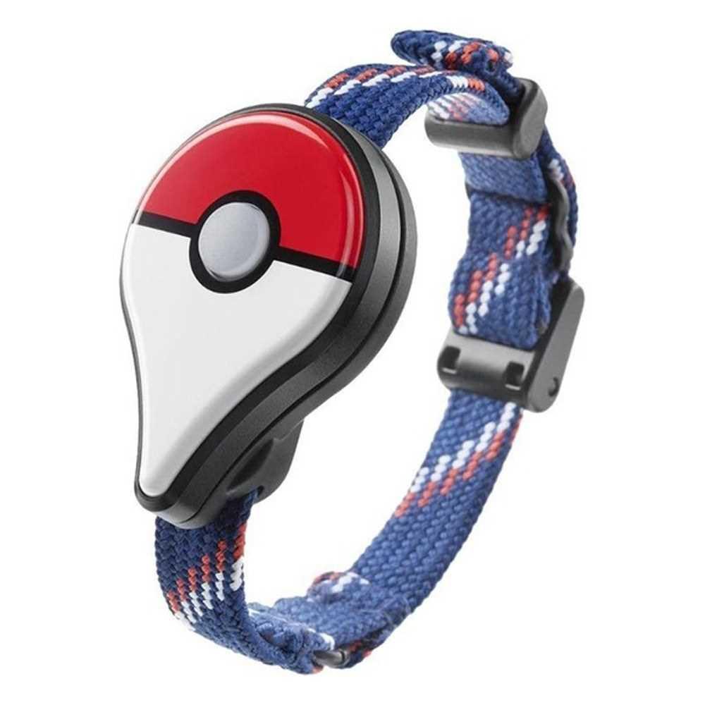 New Wearable BT Pokemon Blue Strap Game Accessories Funny Smart Band Wrist Children Kids Watch (Standard)