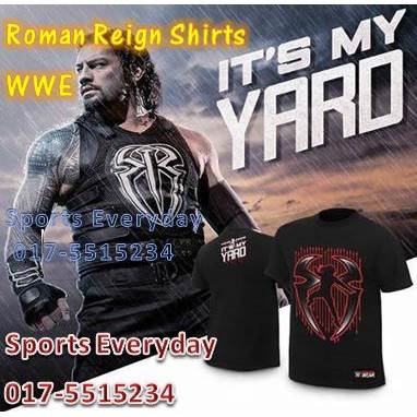 WWE Roman Reigns John Cena Randy Orton /& Brock Lesnar Champions Tee Cotton T-Shirt