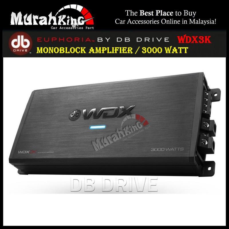 db Drive WDX3K 1Ω Monoblock Amplifier (3000Watts)