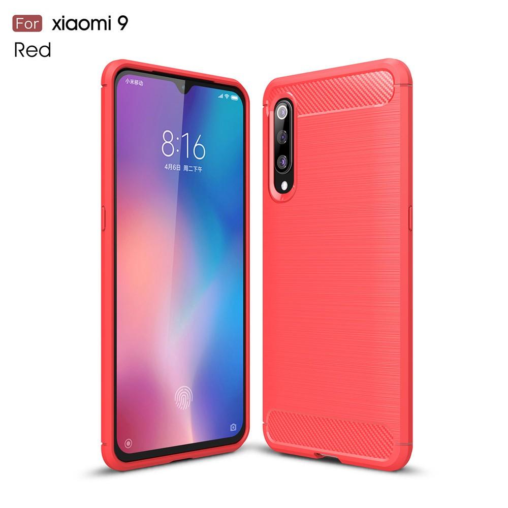 เคสโทรศัพท์คาร์บอนไฟเบอร์แบบนิ่ม Xiaomi Mi 9 /