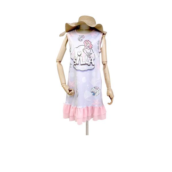 ชุดคู่แม่ลูก ซื้อแยกได้ เดรสเด็กผู้หญิง ชุดเด็กผู้หญิง mother & kids dress (ราคา/ชุด) SILLA
