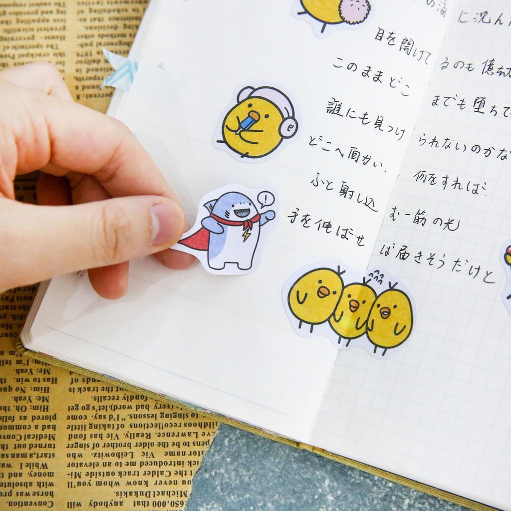 36 Pcs//pack Cute Decorative Stickers DIY Decoration Diary Album Stickers FG