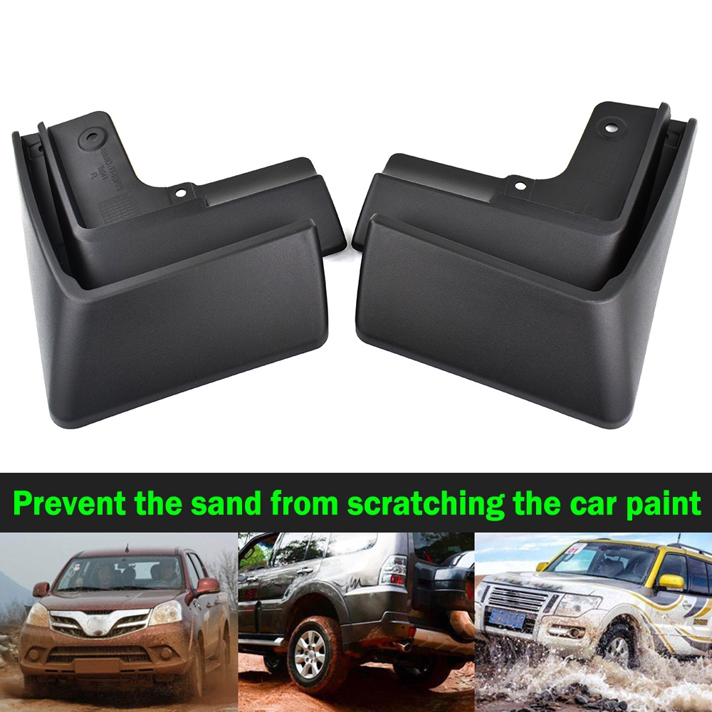 Upgraded Car Mud Flaps Mudguards for NISSAN X-Trail 2008-2013 Front Rear Splash Guards Car Fender Styling /& Body Fittings Black 4Pcs