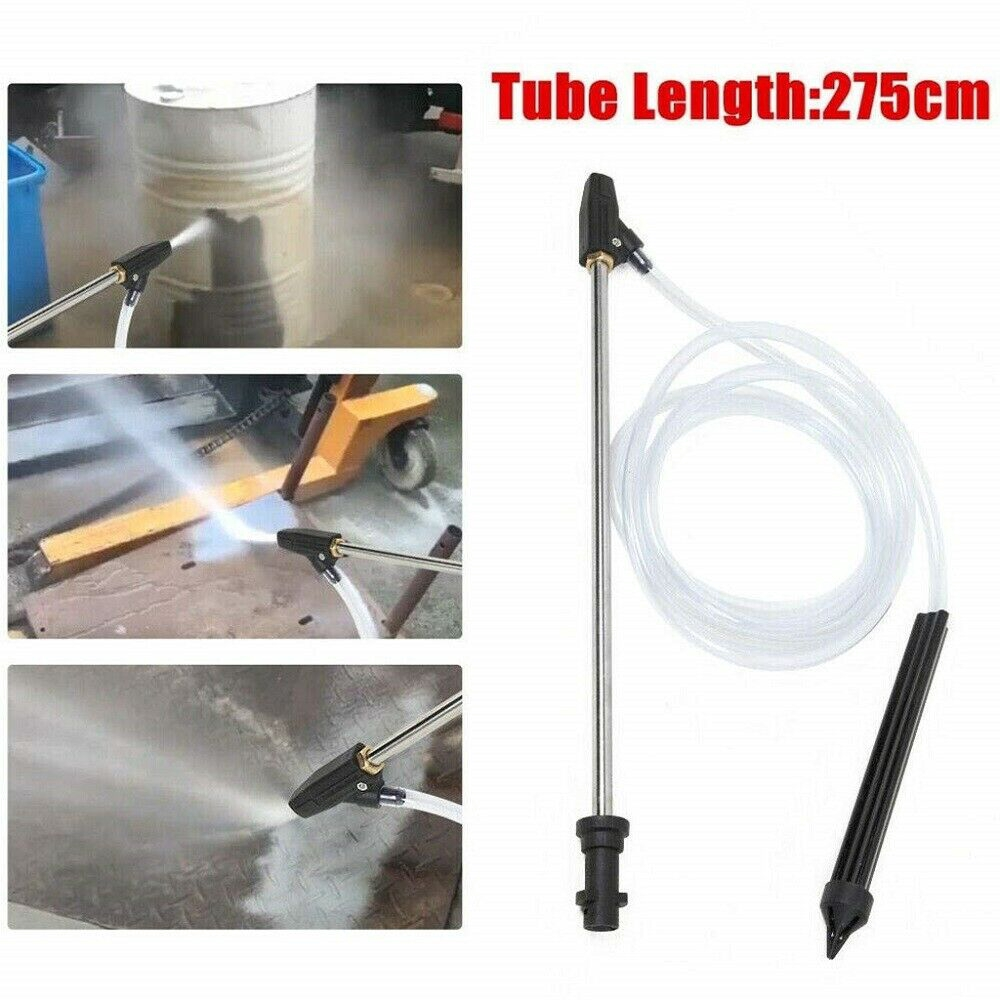 Sand and Wet Blasting Kit for Karcher Pressure Washer Gun W// Nozzle 275cm//108/'/'