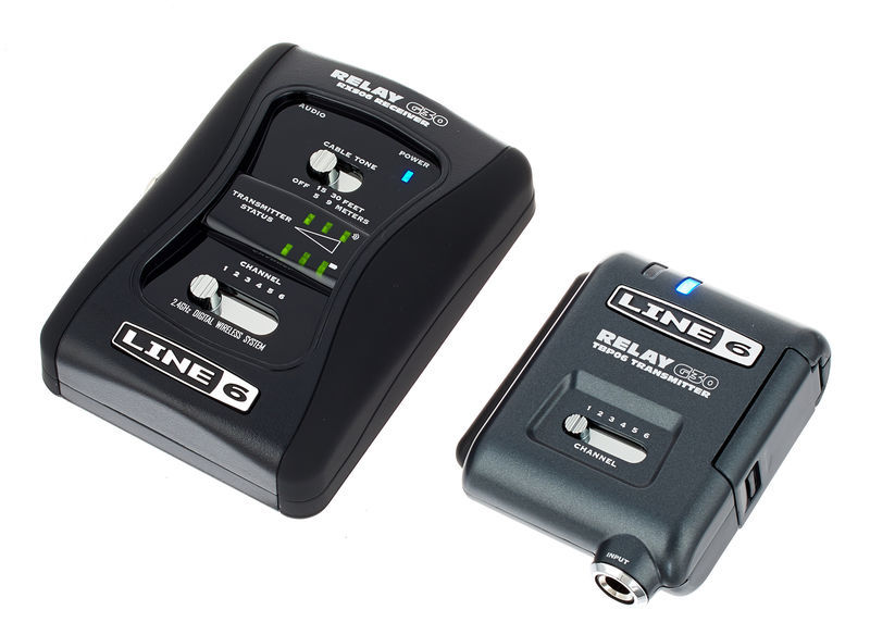 LINE 6 RELAY G-30 Digital Wireless Guitar System Up To 100-Foot Range, Compact Stompbox Format (G30)