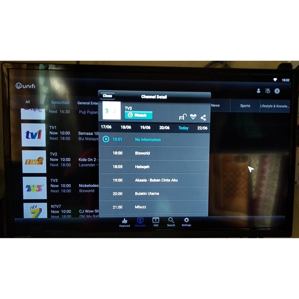 Tanix TX6 Android 9 4GB RAM, 32GB Storage (AstroGo,PlayTV@Unifi READY),  RETRO GAMES AVAILABLE