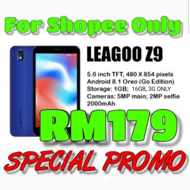 ☆Limited Time Offer New Ori Leagoo Z9 AND Z10
